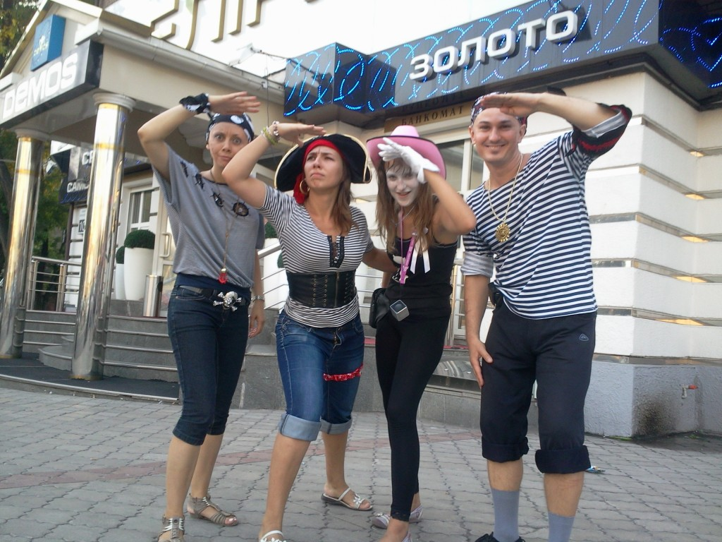 """Пираты"" на проспекте"